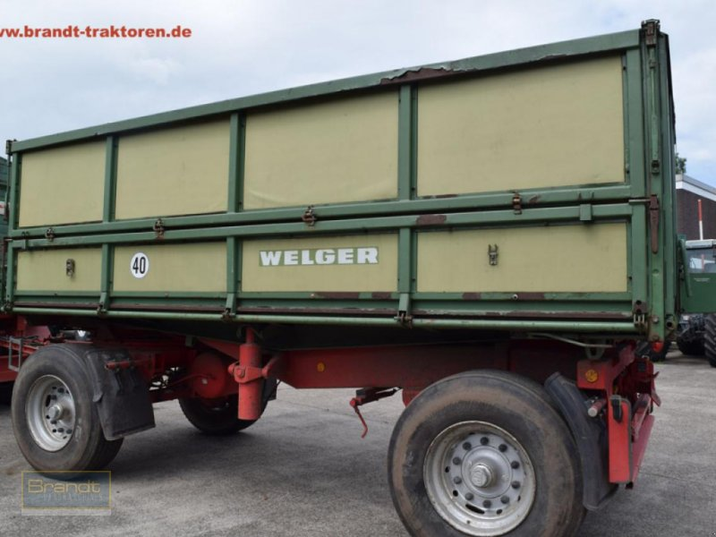 Kipper typu Welger DK 280 B *18t*, Gebrauchtmaschine v Bremen (Obrázok 3)