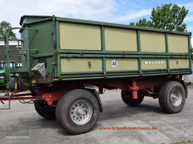 Kipper типа Welger DK 280 B  *18t*, Gebrauchtmaschine в Bremen (Фотография 1)