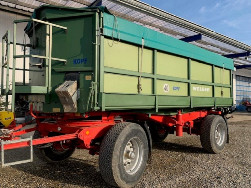 Kipper des Typs Welger DK 280 B *Landwirtsanhänger*, Gebrauchtmaschine in Schutterzell (Bild 1)