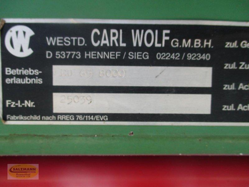 Kipper des Typs Wolf ED 65 8000, Gebrauchtmaschine in Rosenthal (Bild 5)