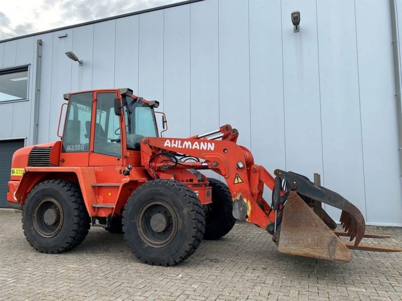 Knickgelenkte Baggerlader типа Ahlmann AZ150 Voerklem, Gebrauchtmaschine в Goor (Фотография 1)
