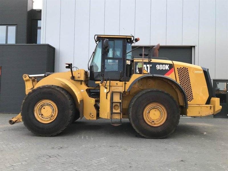 Knickgelenkte Baggerlader a típus Caterpillar 980K (Year: 2014), Gebrauchtmaschine ekkor: Goor (Kép 1)