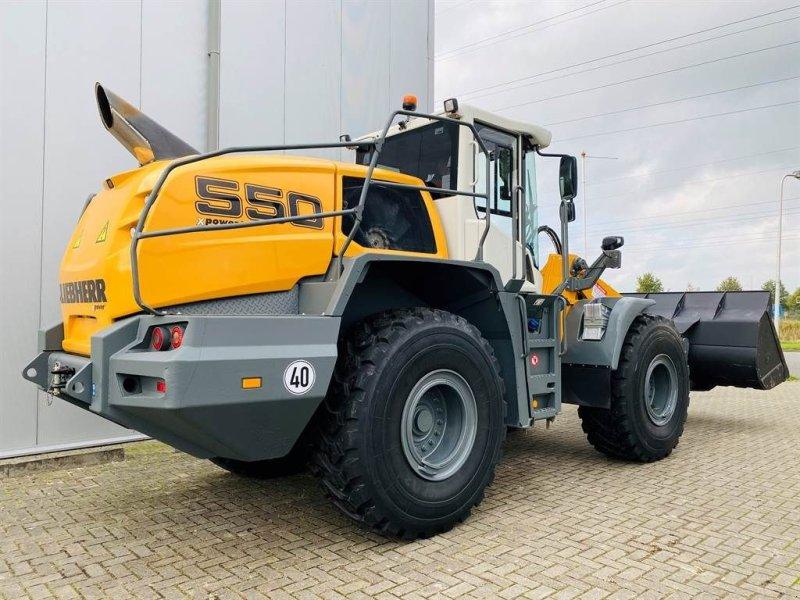 Knickgelenkte Baggerlader типа Liebherr L 550 Xpower (Full spec!)o, Gebrauchtmaschine в Goor (Фотография 1)