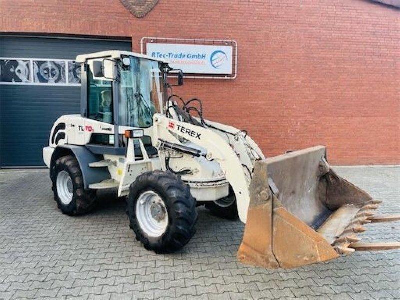 Knickgelenkte Baggerlader типа Terex TL70S, Gebrauchtmaschine в Coevorden (Фотография 1)