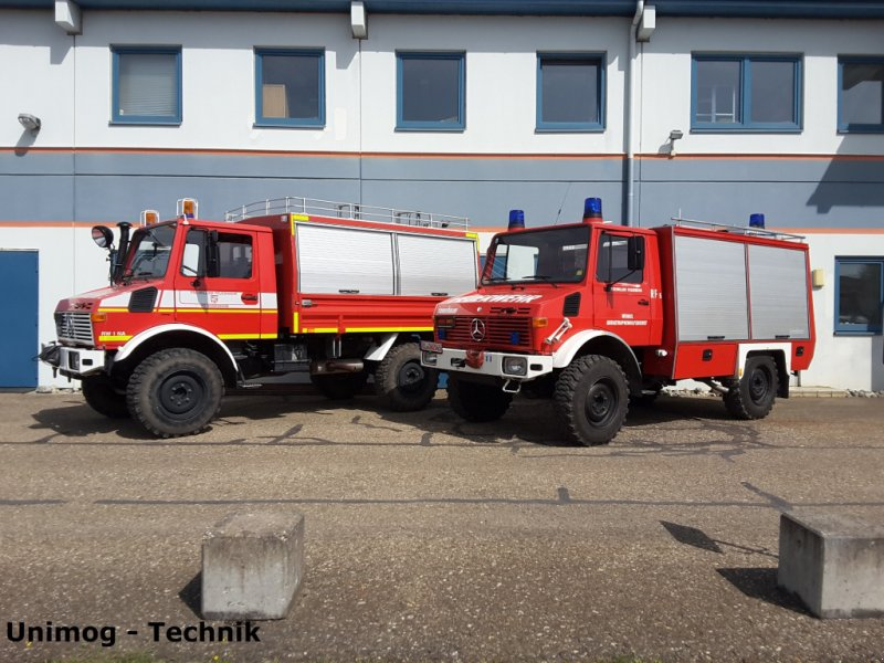 Kommunalfahrzeug des Typs Daimler-Benz Unimog Feuerwehr Agrar Kran, Gebrauchtmaschine in Merklingen (Bild 1)