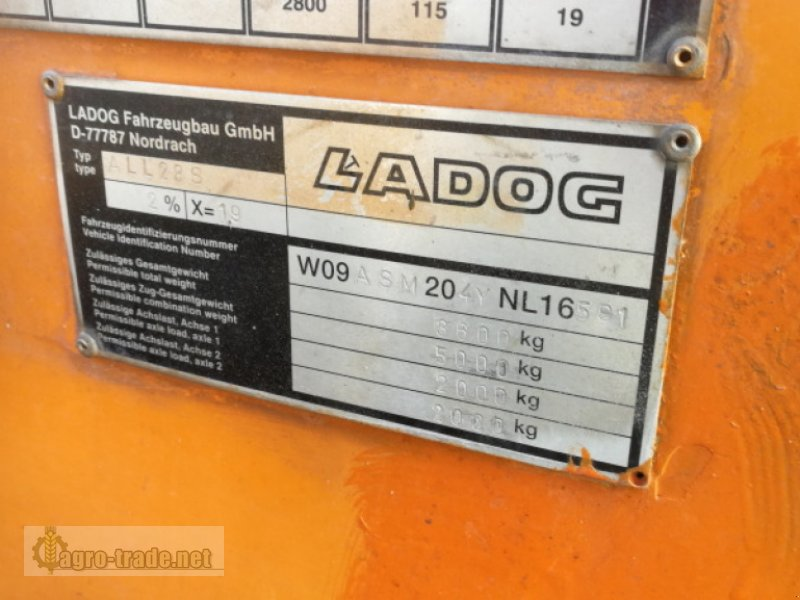 Kommunalfahrzeug des Typs Ladog ALL 28, Gebrauchtmaschine in Ellerdorf (Bild 8)