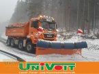 Kommunalfahrzeug des Typs MAN MAN 35.500 Hydrodrive 4-Achser Winterdienst Schneepflug - Streuer in Warmensteinach