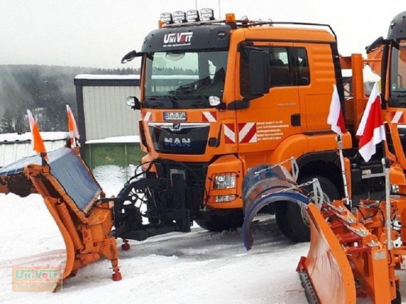 Kommunalfahrzeug des Typs MAN TGS 28.500 Allrad mit Lenk-Liftachse Multilift Hakengerät, Winterdienst Schneepflug - Streuer, Gebrauchtmaschine in Warmensteinach (Bild 1)