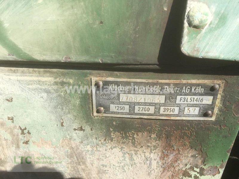 Kommunaltraktor des Typs Deutz-Fahr F3 L-514 PRIVATVK, Gebrauchtmaschine in Wiener Neustadt (Bild 3)