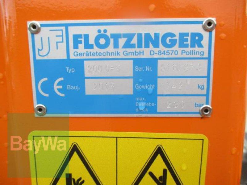 Kommunaltraktor des Typs Flötzinger HECK-PLANIERGERÄT 2000 S #702, Gebrauchtmaschine in Schönau b.Tuntenhausen (Bild 9)