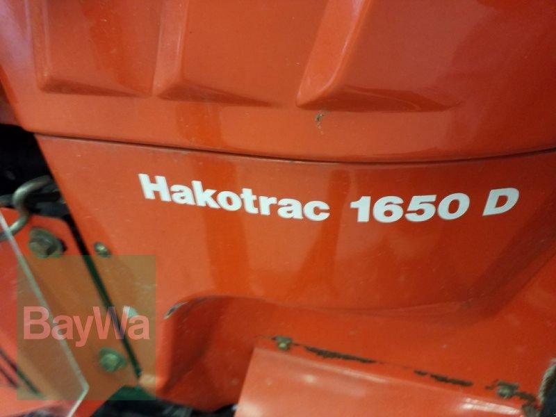 Kommunaltraktor des Typs Hako GEBR. 1650 D TRAC, Gebrauchtmaschine in Bamberg (Bild 17)