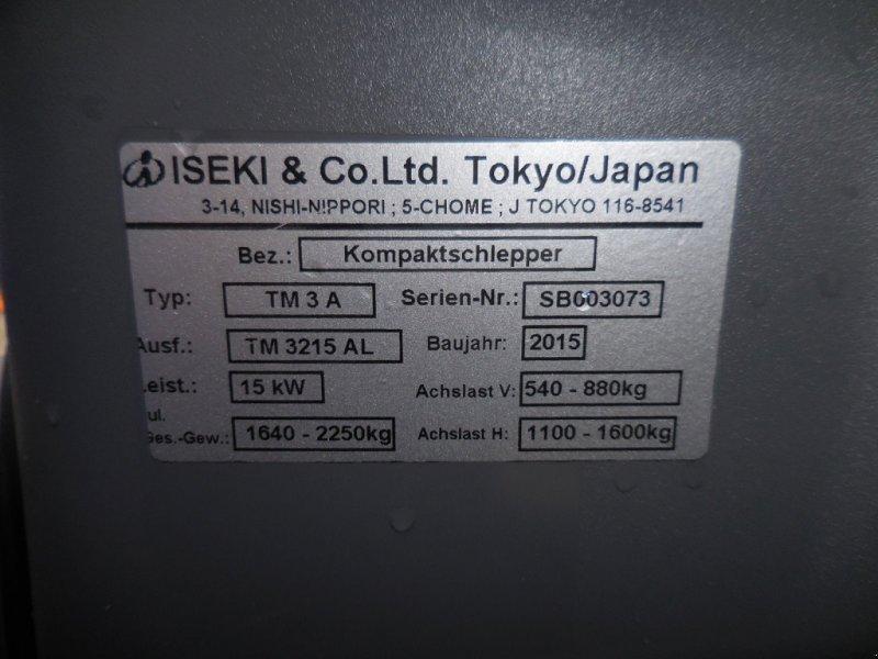 Kommunaltraktor des Typs Iseki TM 3215 AL, Gebrauchtmaschine in Waischenfeld (Bild 7)