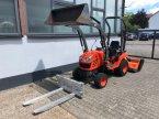 Kommunaltraktor des Typs Kubota BX 2350 Allrad Traktor Schlepper Frontlader Slegelmulcher in Bühl