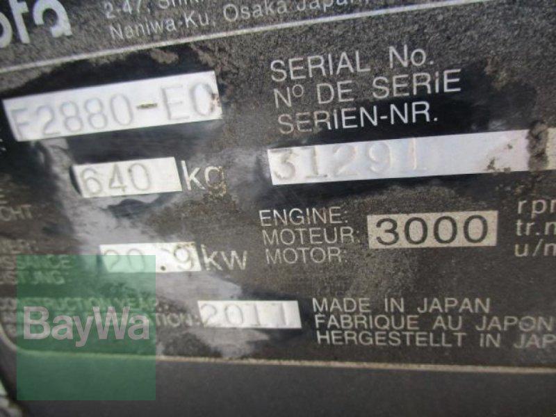 Kommunaltraktor des Typs Kubota F 2880 FRONTMÄHER  #309, Gebrauchtmaschine in Schönau b.Tuntenhausen (Bild 13)