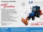 Kommunaltraktor des Typs LS Tractor J27 HST Winterdienst Paket NEU in Hirschbach