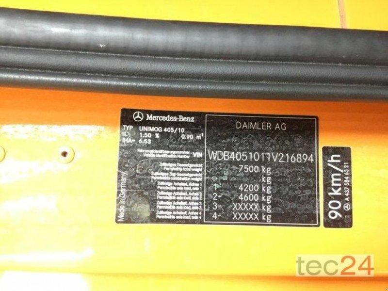 Kommunaltraktor des Typs Mercedes-Benz Unimog 405/10, Gebrauchtmaschine in Stockach (Bild 9)