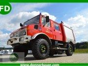Mercedes-Benz Unimog U1300 L Doka, Doppelkabine mit Turbo, 124 KW Трактор для коммунальных служб