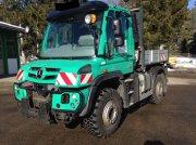 Mercedes-Benz Unimog U427 mit Mähausleger und Schneepflug Трактор для коммунальных служб