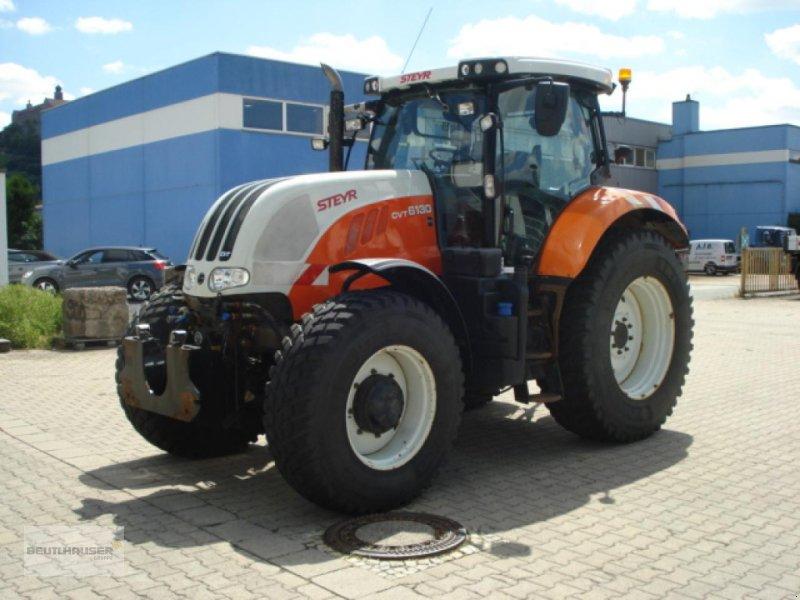 Kommunaltraktor des Typs Steyr Traktor Schlepper Steyr 6130 CVT Komfort Kommunal, Gebrauchtmaschine in Kulmbach (Bild 1)
