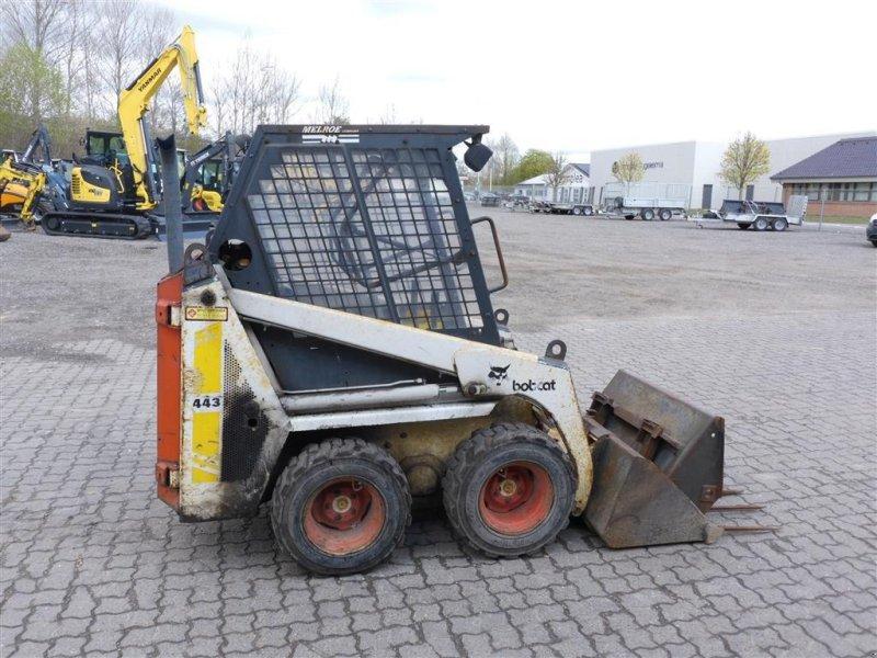 Kompaktlader типа Bobcat 443, Gebrauchtmaschine в Nørresundby (Фотография 1)