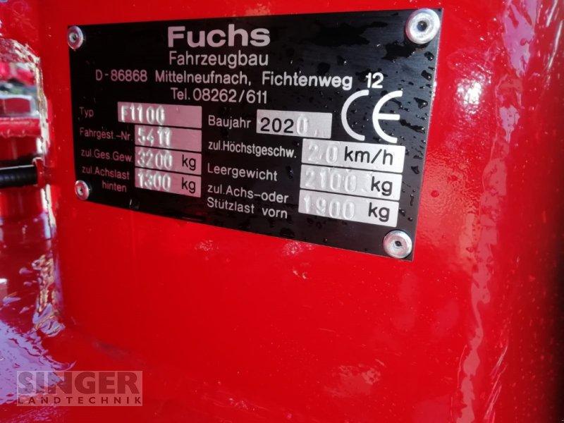 Kompaktlader des Typs Fuchs F 1100, Neumaschine in Ebenhofen (Bild 7)
