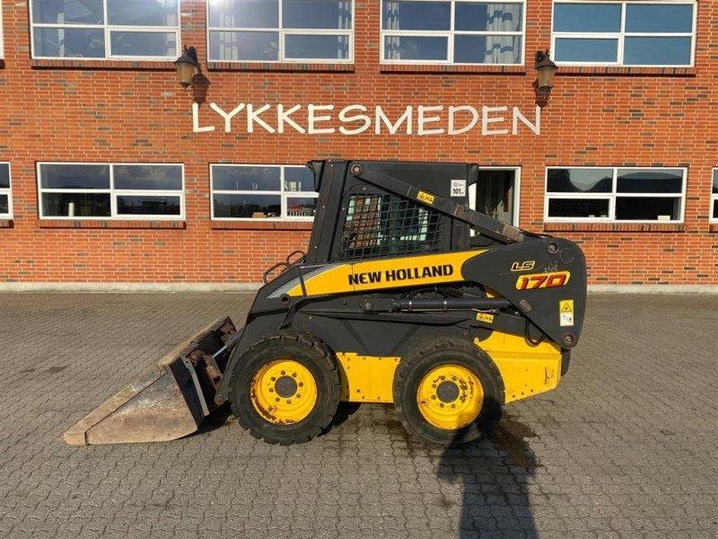 Kompaktlader типа New Holland LS 170, Gebrauchtmaschine в Gjerlev J. (Фотография 1)