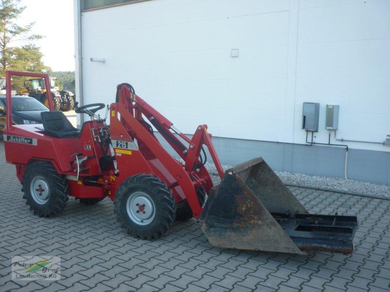 Kompaktlader типа Schäffer 215, Gebrauchtmaschine в Pegnitz-Bronn (Фотография 1)