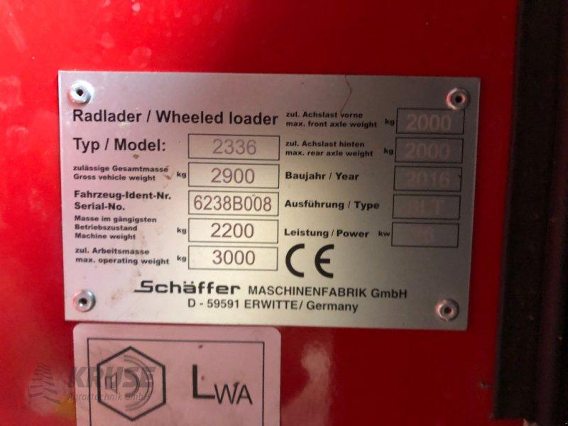 Kompaktlader des Typs Schäffer 2336 SLT, Gebrauchtmaschine in Fürstenau (Bild 11)