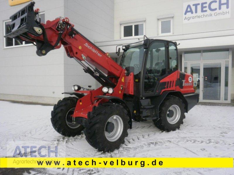 Kompaktlader des Typs Schäffer 6680 T, Neumaschine in Velburg (Bild 1)
