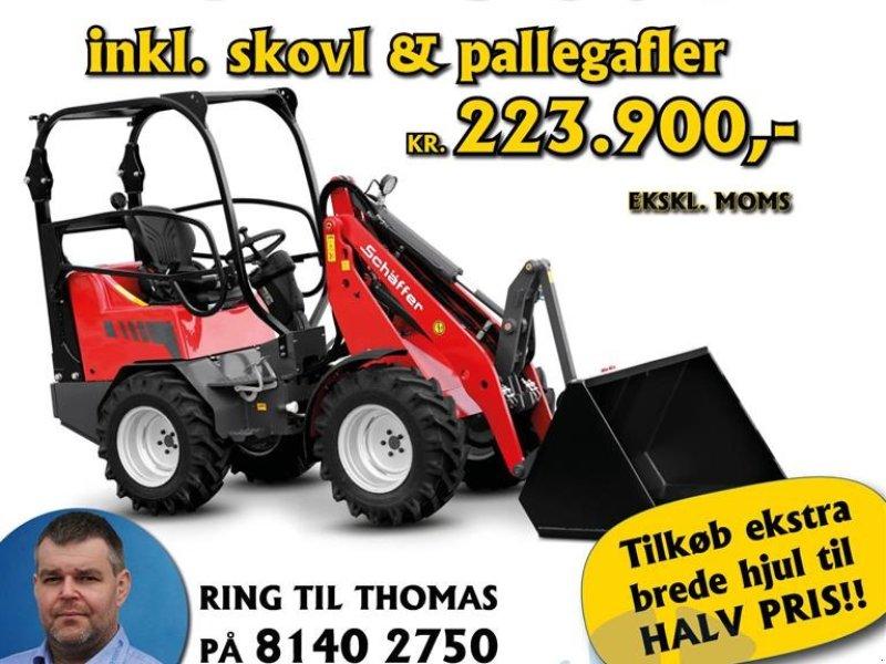 Kompaktlader типа Schäffer Nordic 30+ kampagnepris, inkl. skovl og pallegafler, Gebrauchtmaschine в Holstebro (Фотография 1)