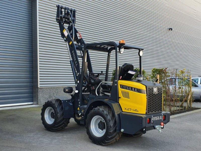 Kompaktlader типа Sonstige Pitbull X27-45 pk minishovel / kniklader, Gebrauchtmaschine в Etten-Leur (Фотография 1)