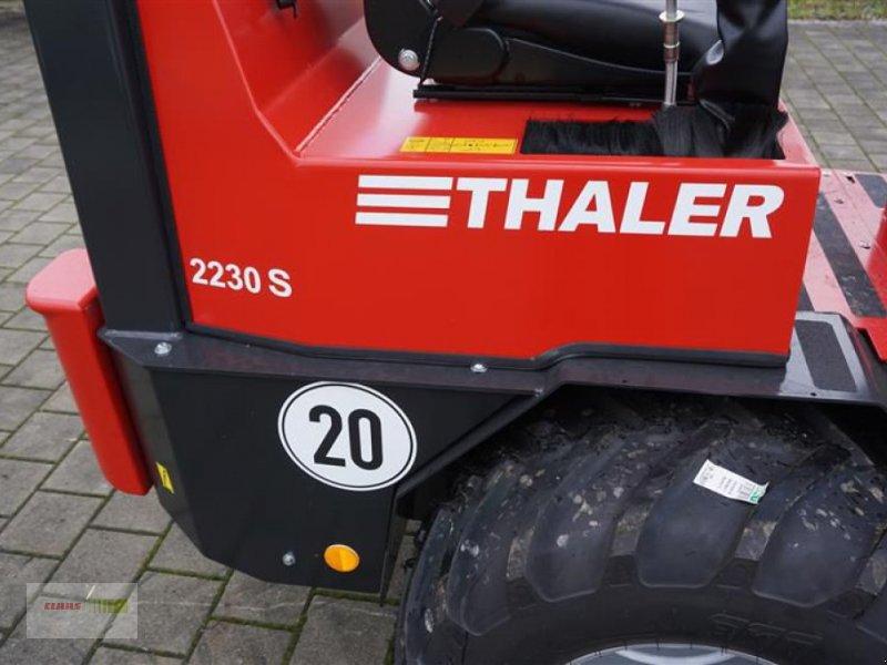 Kompaktlader des Typs Thaler 2230 S, Neumaschine in Töging am Inn (Bild 9)