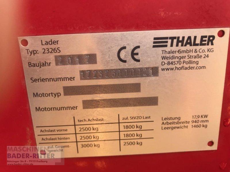 Kompaktlader a típus Thaler 2326S, Gebrauchtmaschine ekkor: Freiburg (Kép 4)