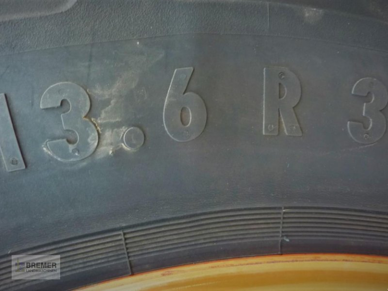 Komplettradsatz типа CLAAS CELTIS, AXOS, ARES MITAS 13.6 R 38 bzw 340/85 R 36, Gebrauchtmaschine в Asendorf (Фотография 12)