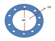 Komplettradsatz типа Continental NEU 680-85 R32 10-Lorch org, Claas-Felgen, Neumaschine в Schutterzell