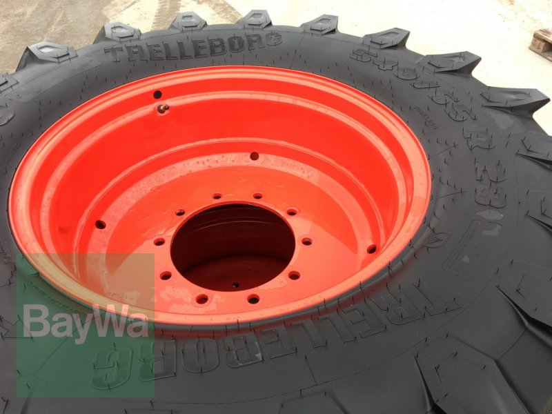 Komplettradsatz des Typs Fendt 540/65 R28 & 650/65 R38 Trelleborg TM800 ***NEUWERTIG*** für 700er Fendt, Gebrauchtmaschine in Dinkelsbühl (Bild 5)