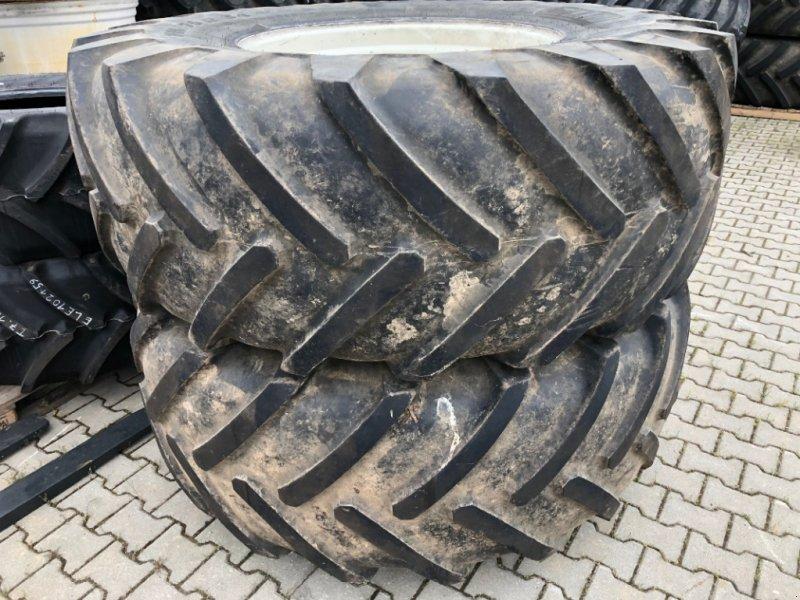 Komplettradsatz des Typs New Holland Michelin Mega X-Bib 710-70R34, Gebrauchtmaschine in Ebersbach (Bild 1)