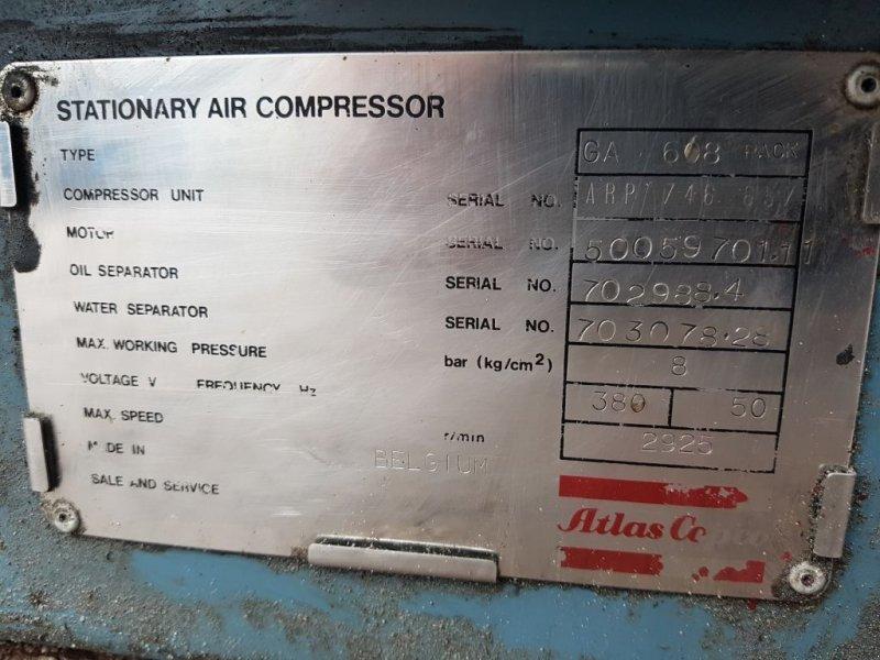 Kompressor tip Atlas Copco GA 608, Gebrauchtmaschine in Scharsterbrug (Poză 10)