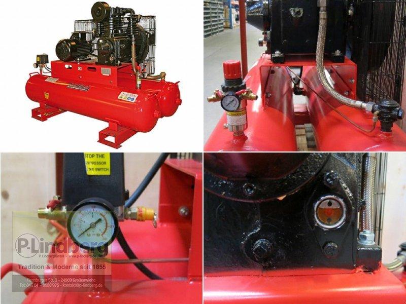 Kompressor типа Markenlos Mobiler Luftkompressor 2-Zylinder 3-Phasen-Motor 5 PS, Neumaschine в Großenwiehe (Фотография 1)