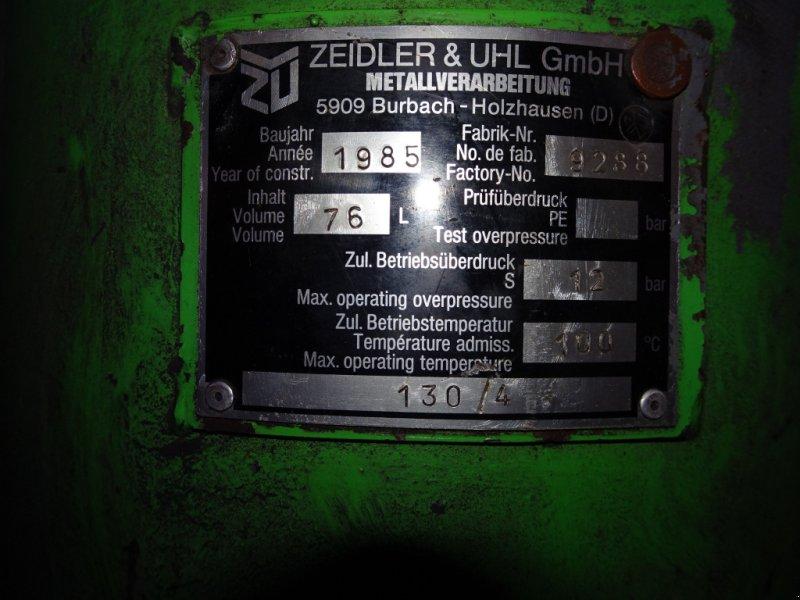 Kompressor a típus zeidler -, Gebrauchtmaschine ekkor: st.georgen/y. (Kép 8)