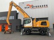Kran des Typs Liebherr LH 40 M Generator + Grapple, Gebrauchtmaschine in Goor