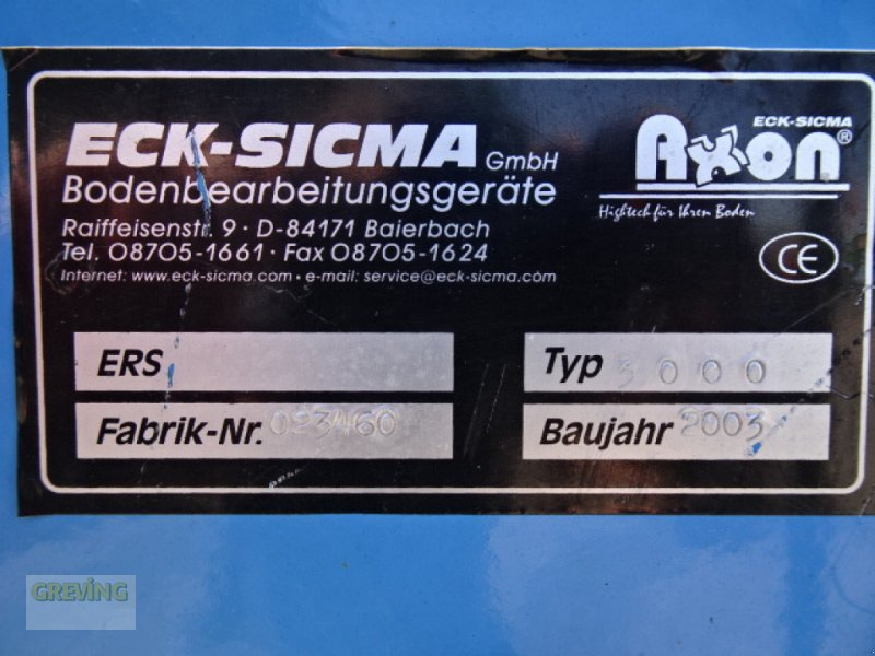 Kreiselegge des Typs Eck Sicma ERS 3000, Gebrauchtmaschine in Greven (Bild 10)
