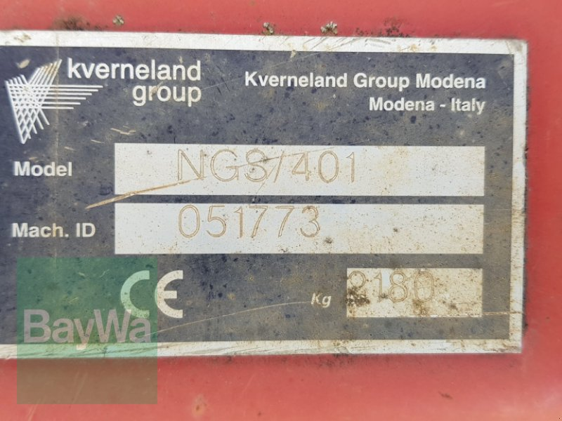 Kreiselegge des Typs Kverneland NGS / 401, Gebrauchtmaschine in Bamberg (Bild 5)