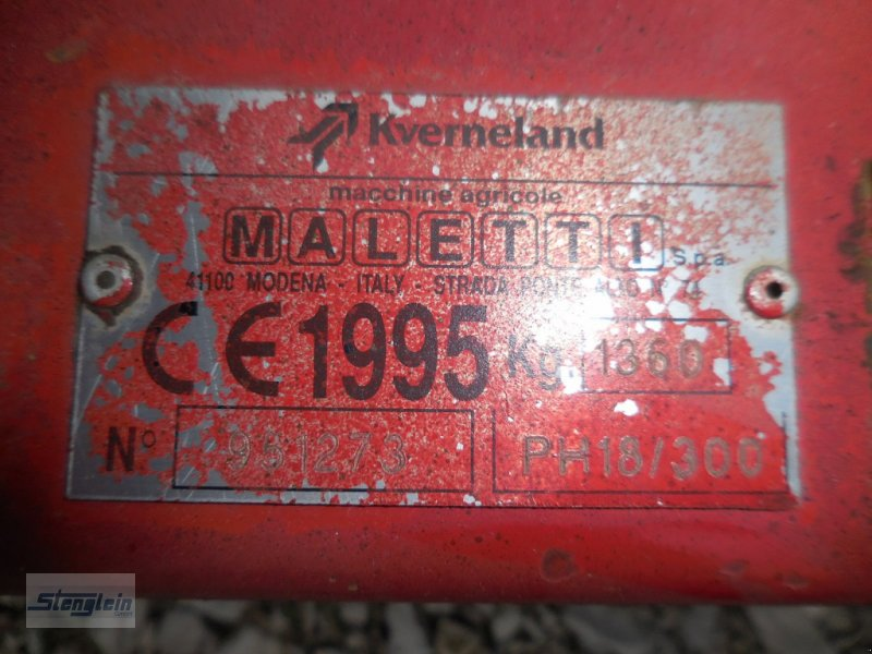 Kreiselegge типа Kverneland PH 18-300, Gebrauchtmaschine в Waischenfeld (Фотография 4)