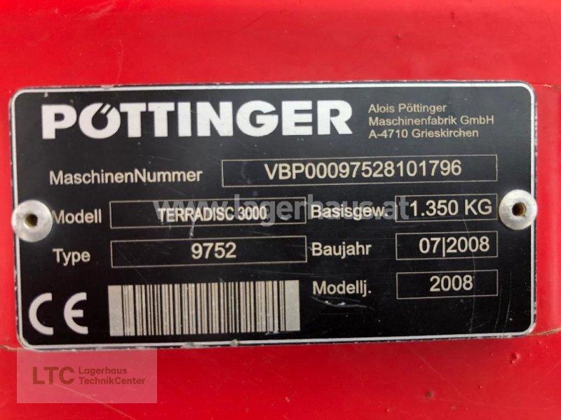 Kreiselegge a típus Pöttinger TERRADISC 3000, Gebrauchtmaschine ekkor: Korneuburg (Kép 3)