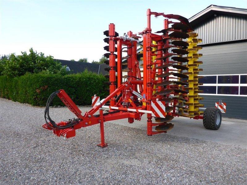 Kreiselegge tip Pöttinger Terradisc 6001 T Demo harve med dobbelt pakkevalse, Gebrauchtmaschine in Slagelse (Poză 1)