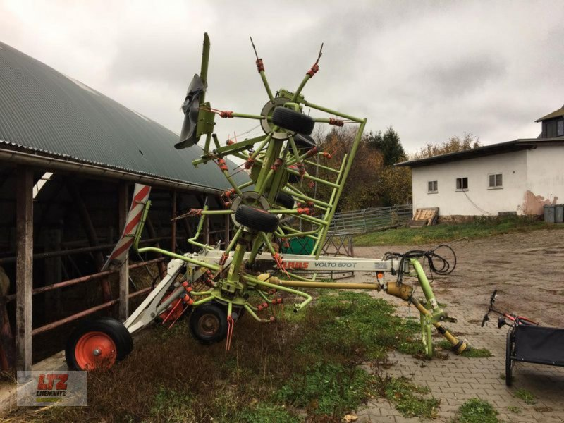 Kreiselheuer des Typs CLAAS WENDER VOLTO 870T, Gebrauchtmaschine in Plauen-Oberlosa (Bild 1)