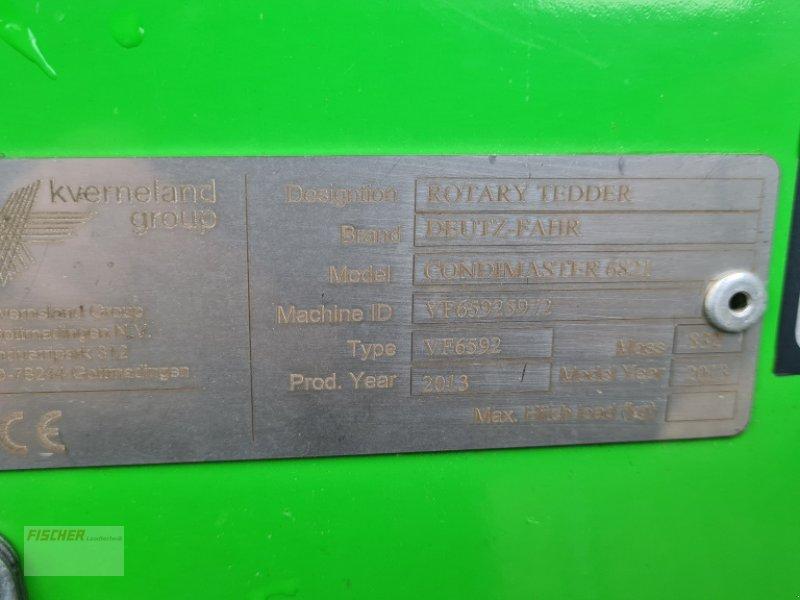 Kreiselheuer des Typs Deutz-Fahr Condimaster 6821, Gebrauchtmaschine in Pfoerring (Bild 7)