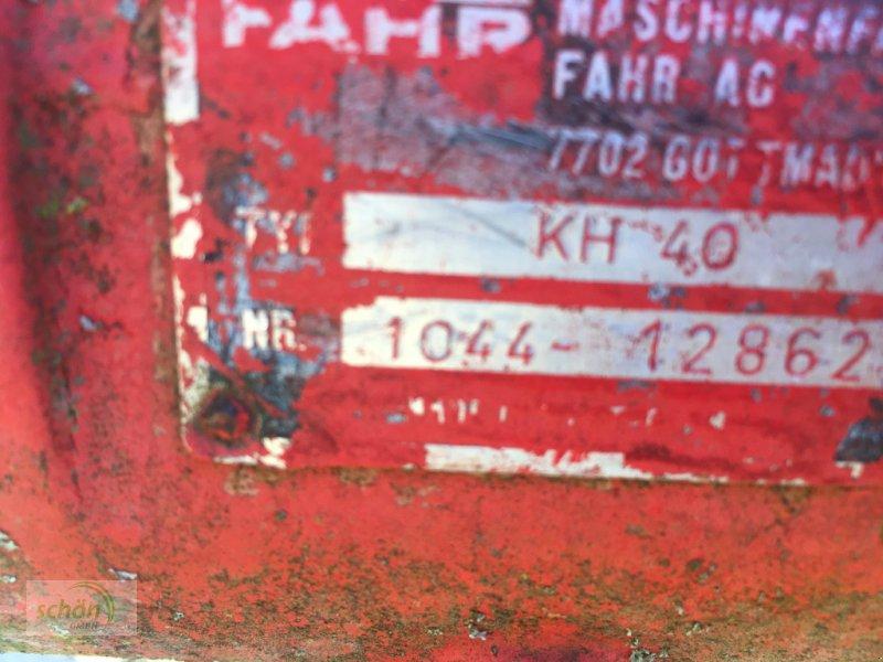 Kreiselheuer типа Fahr KH 40 - zum Ausschlachten - oder Herrichten - mit Zapfwelle, Gebrauchtmaschine в Amtzell (Фотография 10)