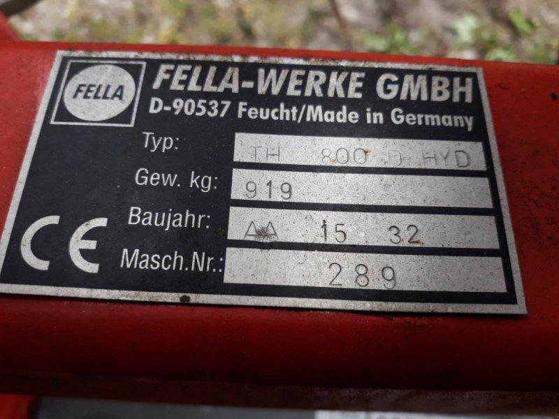 Kreiselheuer des Typs Fella TH 800 D Hydro, Gebrauchtmaschine in Itterbeck (Bild 11)